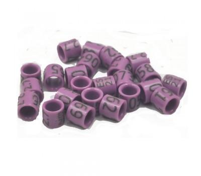 Mixtos / Anillas carbono Grabadas con año y numeradas 2,7 mm