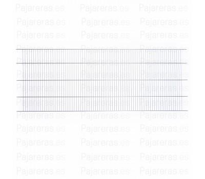 Rejilla de suelo 100 X 40 cm zincada (IMOR)