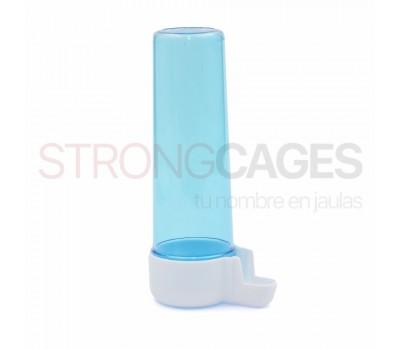Bebedero tubo largo azul