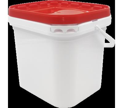 Cubeta para almacenar pastas y semillas