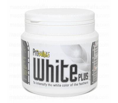 Prowins White Plus 300gr  (intensifica el color blanco de las plumas)