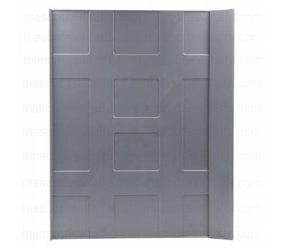 Bandeja para rollo de papel Pedros jaula metro gris