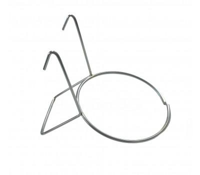 Portanido Italia en hierro zincado (10 cm)