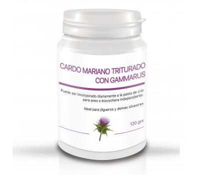 Bote Gammarus deshidratados + Cardo mariano triturado