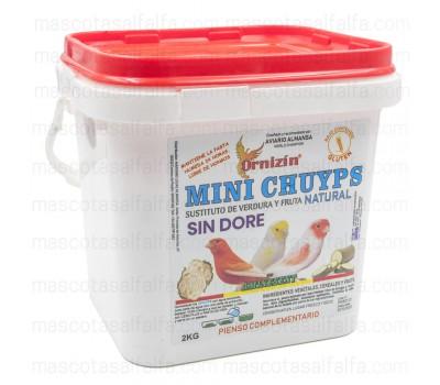 Mini Chuyps Naturales Ornizin NO DORÉ