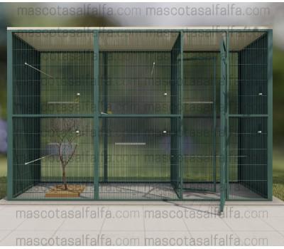 Voladera Campello (3X1 metros con habitaculo de seguridad)