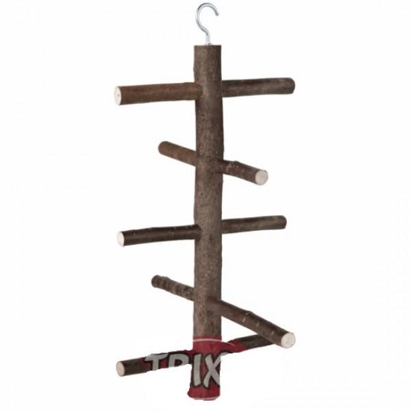 Posadero aviario madera 27 cm