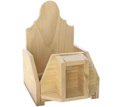 Casillero de madera sencillo