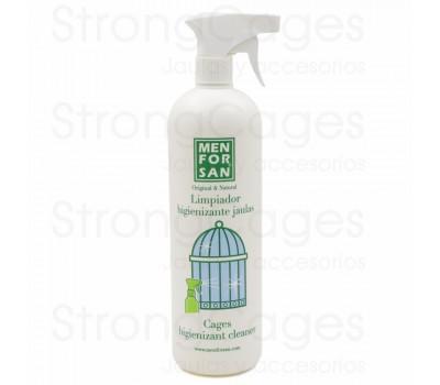 Limpiador Desinfectante para jaulas de aves