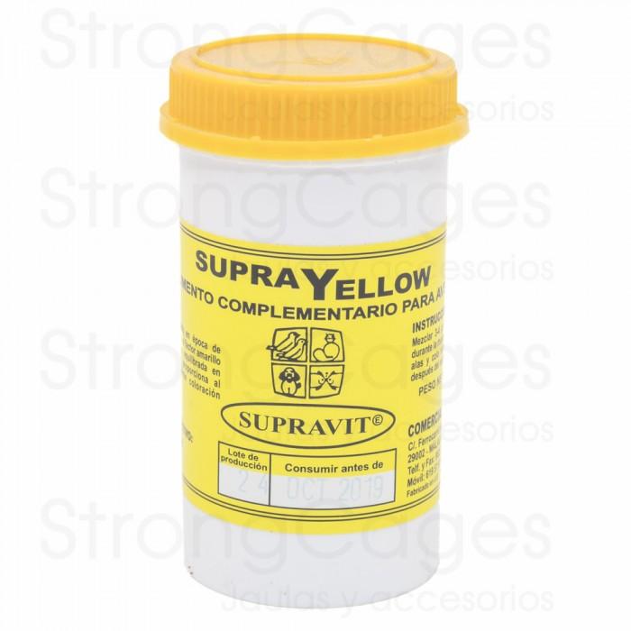 supra yellow para aves de factor amarillo