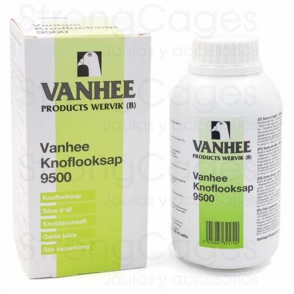 Vanhee 9500 - 500 ml (zumo de ajo enriquecido con calcio, hierro, glucosa y vitamina C)