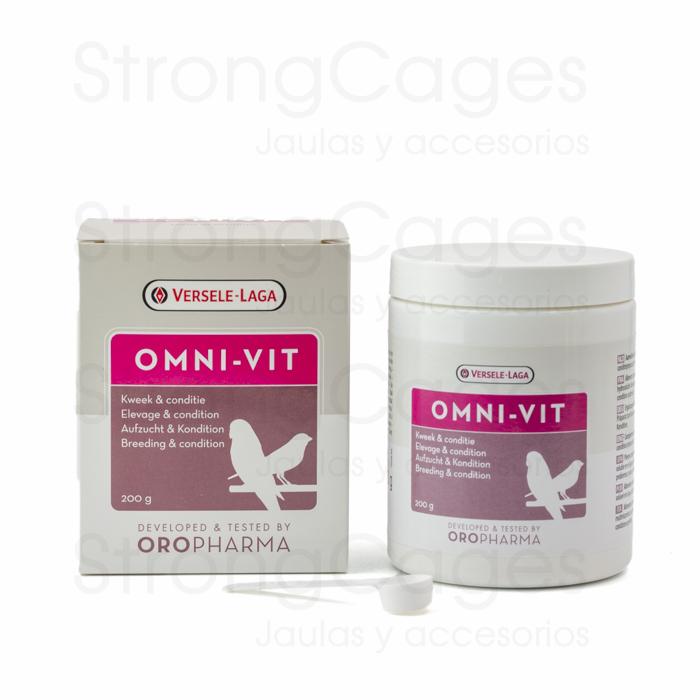 Omni-Vit | Mezcla de vitaminas y aminoácidos para pájaros