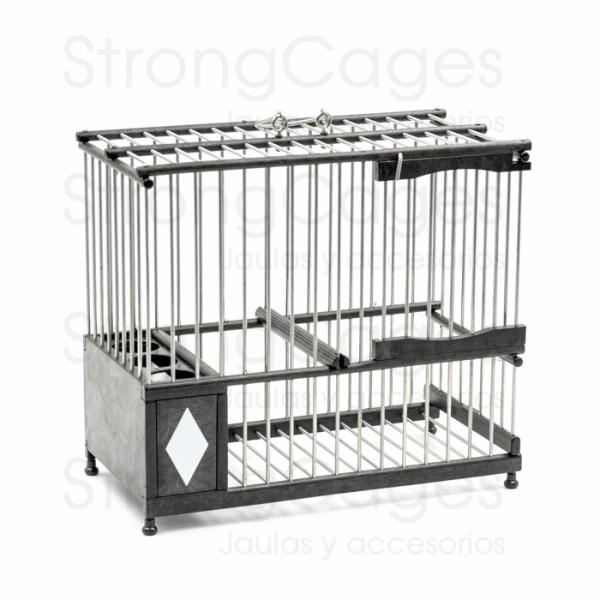 Cage Madrileña PVC Negra