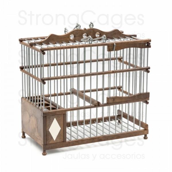 Malaguena Cage brown colour PVC