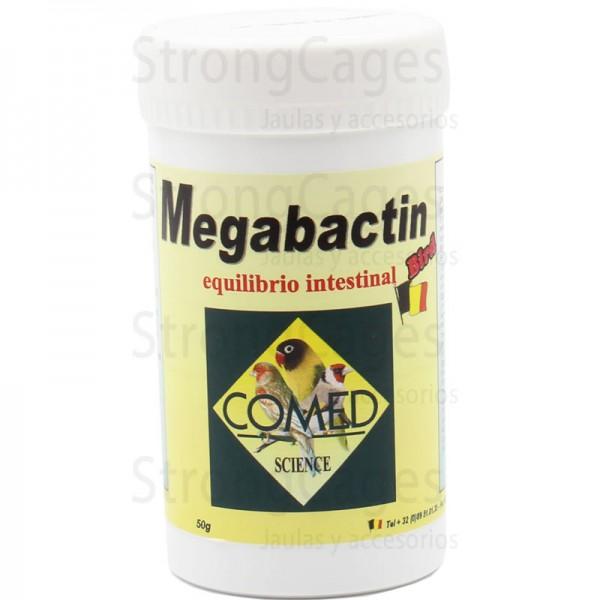 Megabactin equilibrio intestinal pajaros