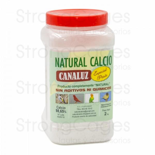 Calcio Natural Canaluz G-00 2 Kg  (rojo)