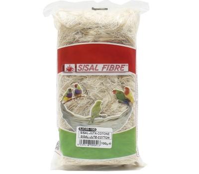 Sisal-Juta Cotone Sisal fibre 100 grs
