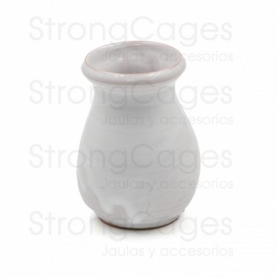 Olleta cerámica blanca