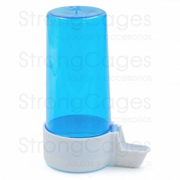 Aviary drinker medium blue