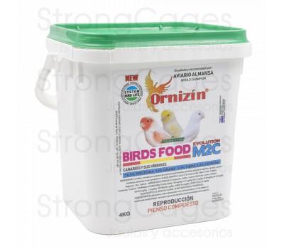 Ornizin pienso M2C para cría Canarios sin doré