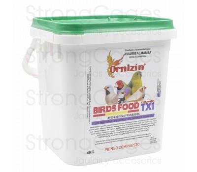 Birds food evolution TX1 Ornizin