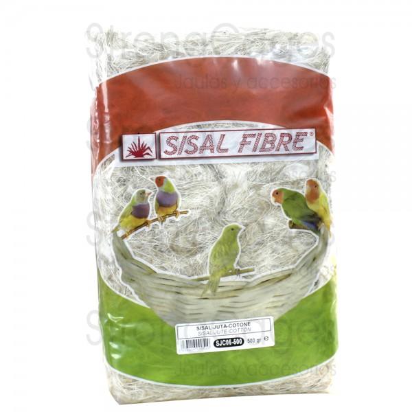 Sisal-Yute-Algodón /  Sisal Fibre 500 grs
