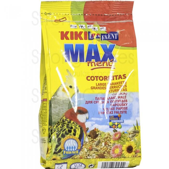 Kiki max menu cotorritas 400 gr