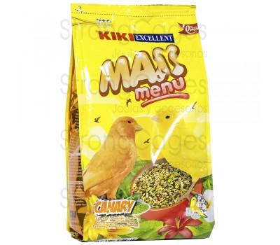 Alimento menú canarios 500 gr