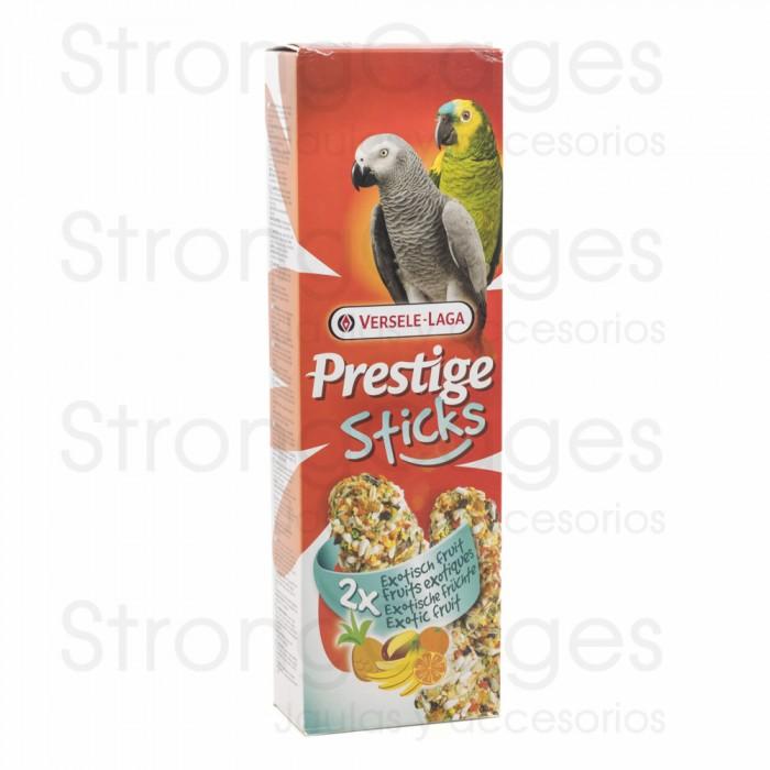 Sticks for parrots exotic fruit