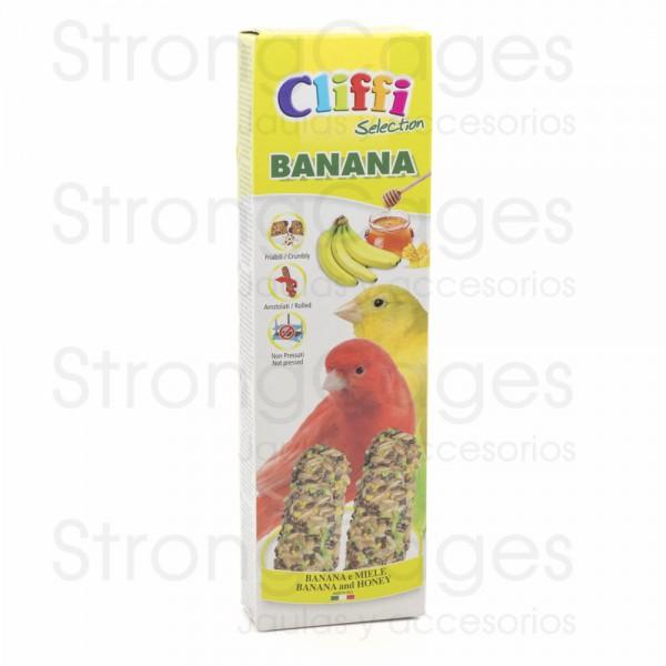 Canarios stick to banana and honey flavor