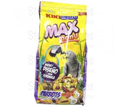Kiki max menú loros y cotorras 1kg