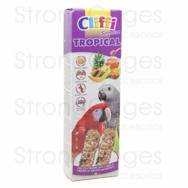 Sticks for parrots tropical fruity and honey