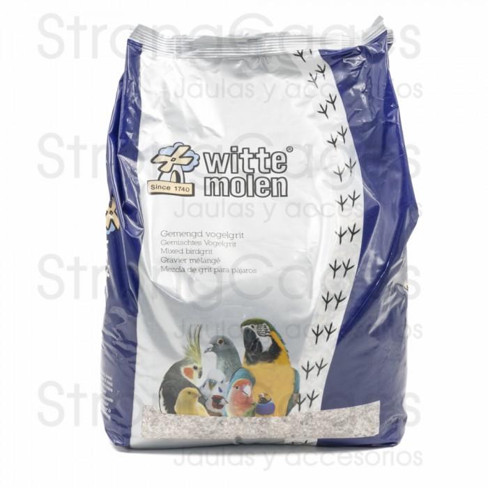 witte molen mezcla de grit para pajaros
