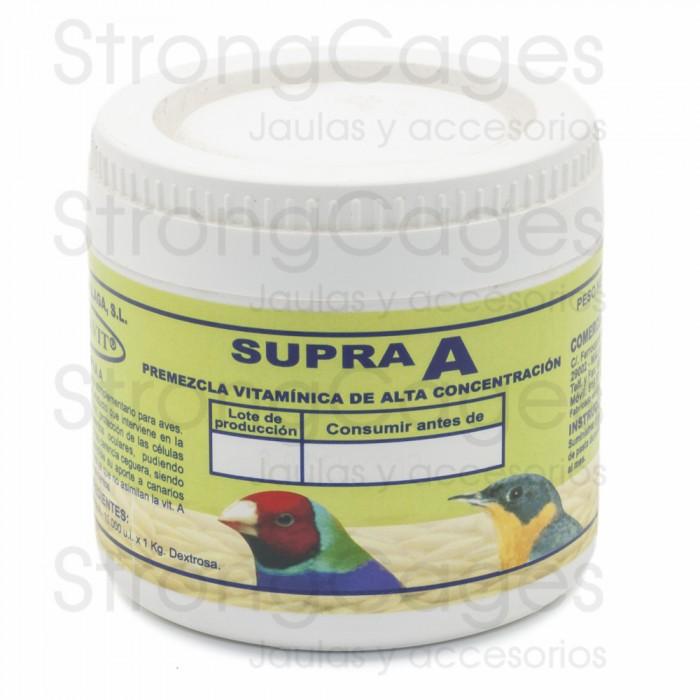 Supra A - Premezcla vitamínica de alta concentración 100 gr.