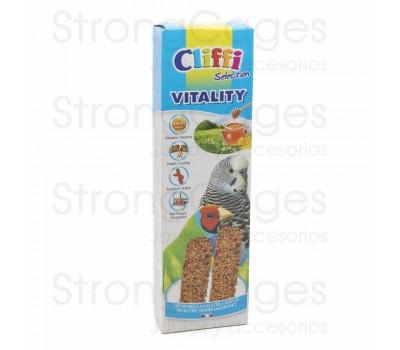Cliffi barrita periquitos miel y semillas de la salud