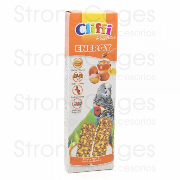 Cliffi barrita periquitos huevo y miel
