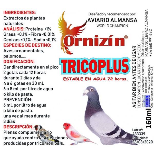 Ornizin tricoplus 160 ml