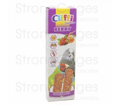 Cliffi barrita periquitos frutas silvestres y miel