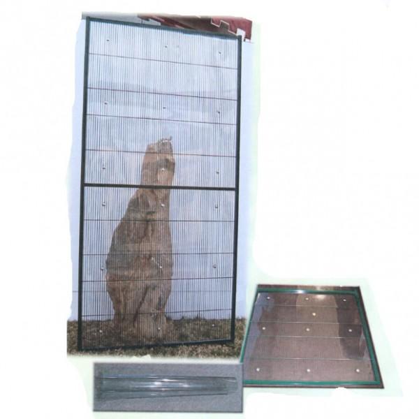 Panel PVC rigido 1 metro (transparente)