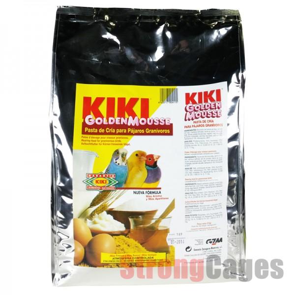 kiki golden mousse pasta de cria amarilla 5kg