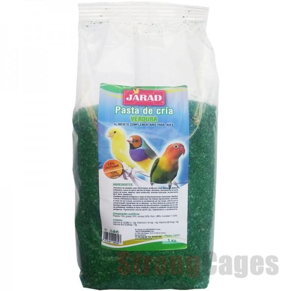 Jarad pasta de cria Verdura