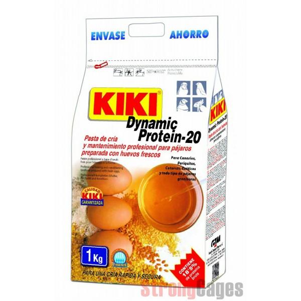 KIKI Pasta de cría y mantenimiento seca al huevo 1 kg