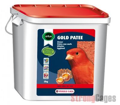 Pasta para Canarios GOLD PATE ROJO 5 kg