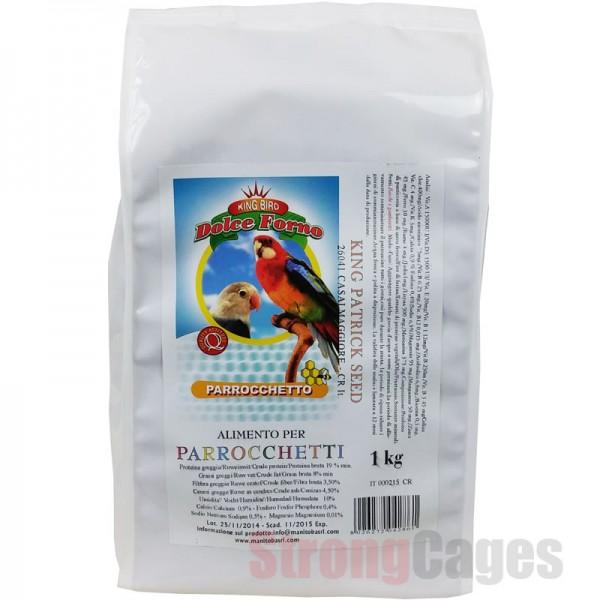 Pasta Psitaceos Parrocheto Manitoba 1kg