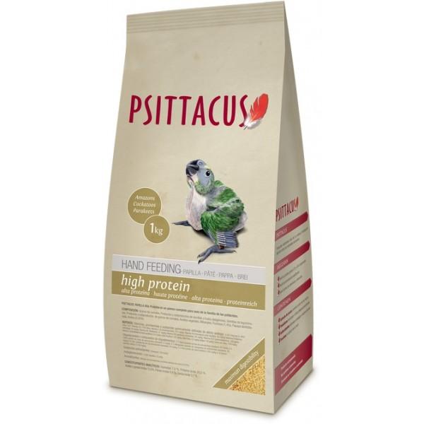 psittacus papilla alta proteina