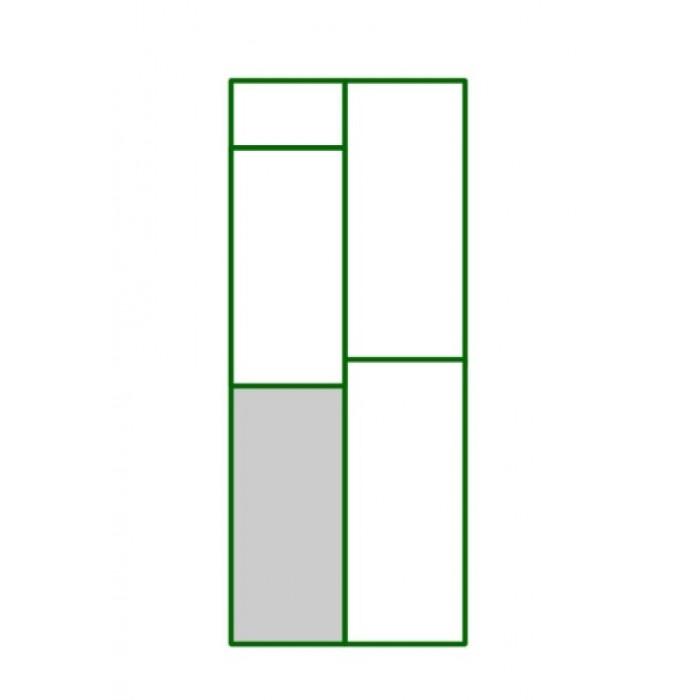 Panel PVC cuadro inferior puerta peatonal