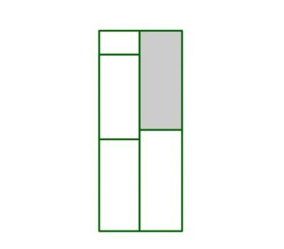 panel pvc de puerta guillotina - Bebedero del panel puerta peatonal